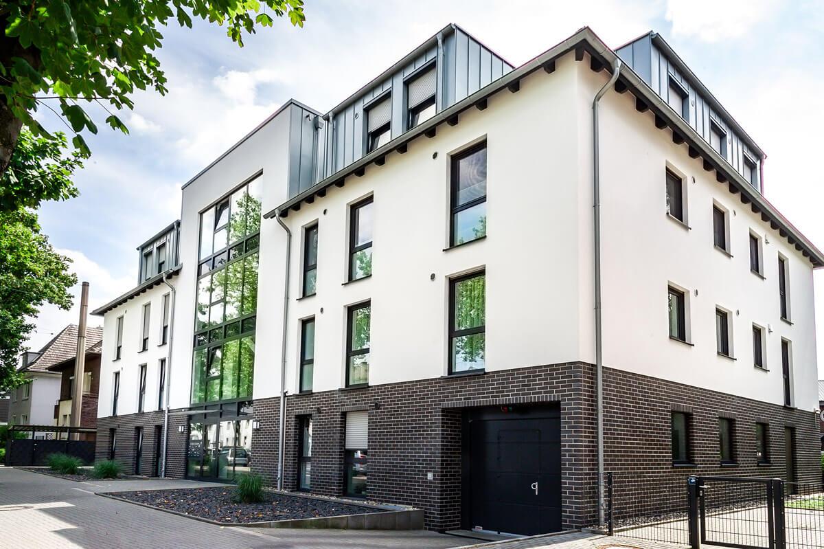 Mehrfamilienhaus mit Tiefgarage-Recklinghausen Blitzkuhlenstraße Hubert Milte